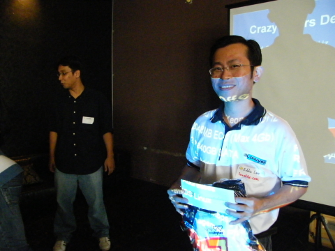 3rd WebmasterMalaysia Gathering lucky draw winner