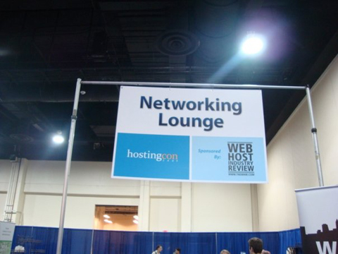 Networking Lounge HostingCon 2009