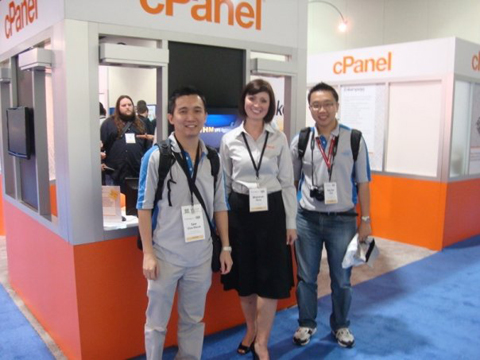 cPanel HostingCon 2009 event photo