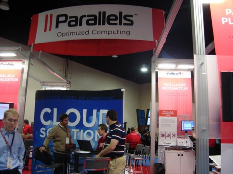parelles booth HostingCon 2009 event photo