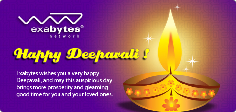 Happy Deepavali exabytes network