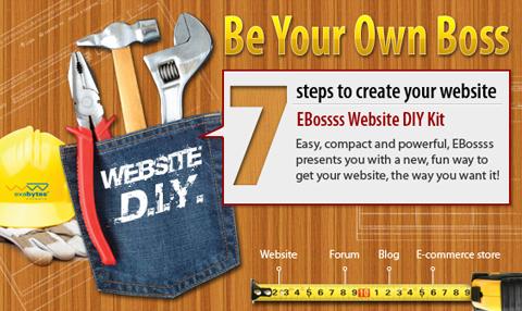 EBossss Website DIY Kit
