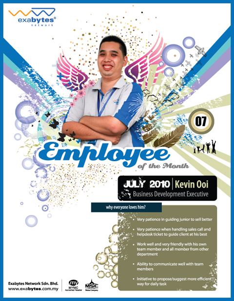 Employee of the Month (July 2010)