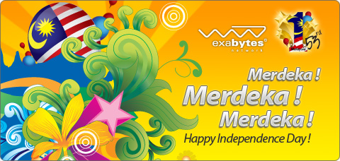 Happy 53rd Merdeka Day
