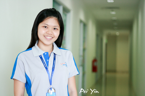 Pei Yin – friendly and motivated