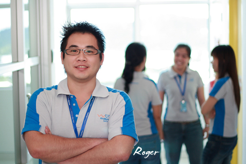 Roger Lew, our sociable and approachable Assistant Manager