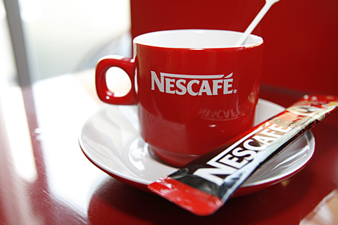 nescafe to start your morning