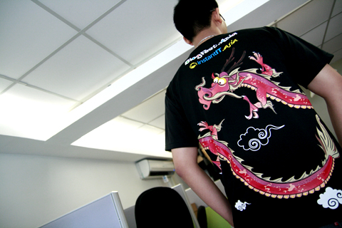 BlogFest.asia t-shirt