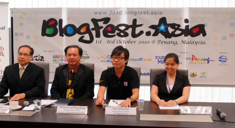 blogfest.asia 2010 press conference