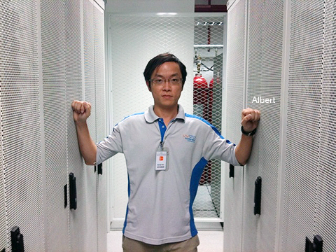 Albert, our Data Center Manager
