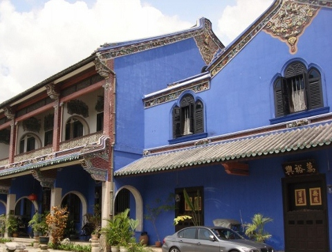 The Cheong Tze Fatt Mansion