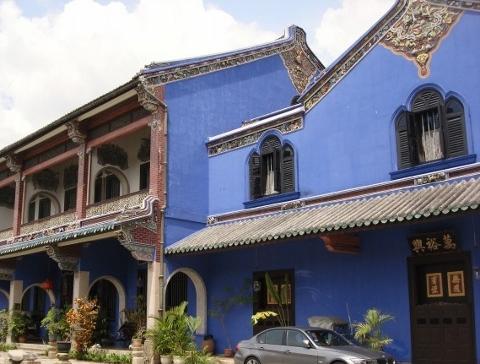 The Cheong Tze Fatt Mansion