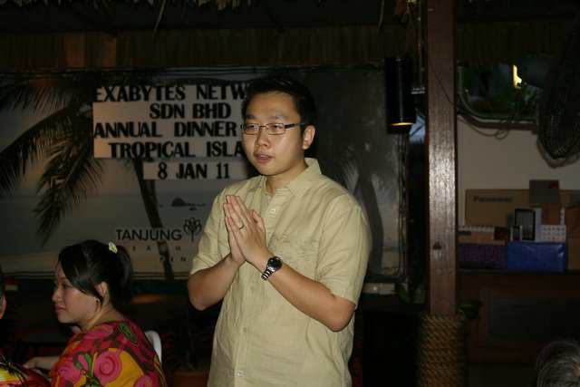 Exabytes Annual Dinner 2011 - Chan Kee Siak
