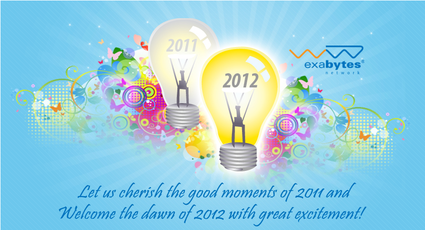Happy new year to all valued customers exabytes web hosting blog new year greetings from exabytes web hosting m4hsunfo