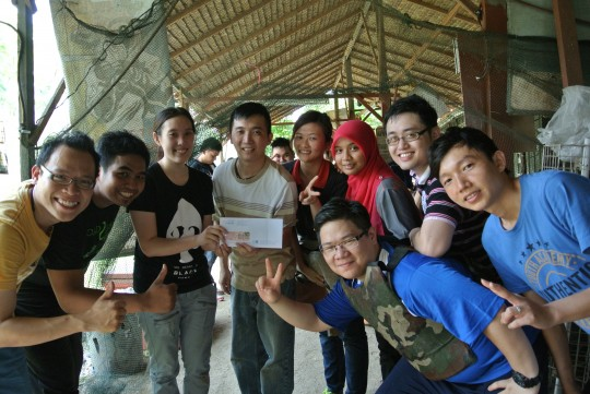 Exabytes' Annual Paintball Event award team 2