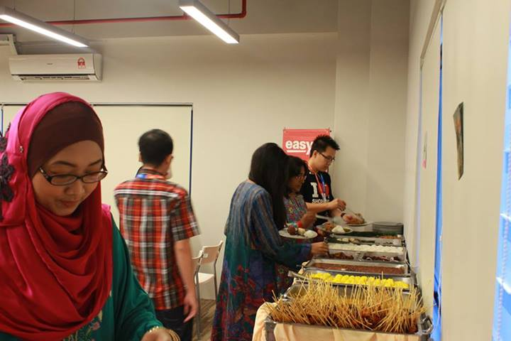 Exabytes Puchong office Hari Raya open house 10