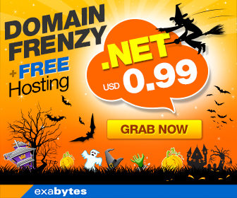 Domain Frenzy + Free hosting promo