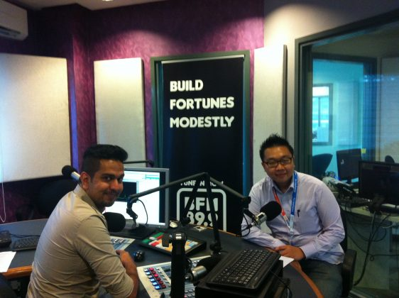 Exabytes CEO at BFM 89.9 radio