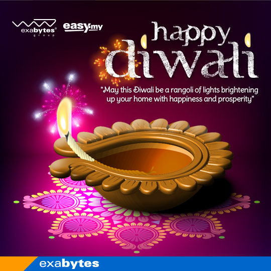 happy dewali from exabytes