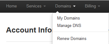 WHMCS Domains