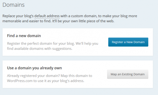 WordPress Domians