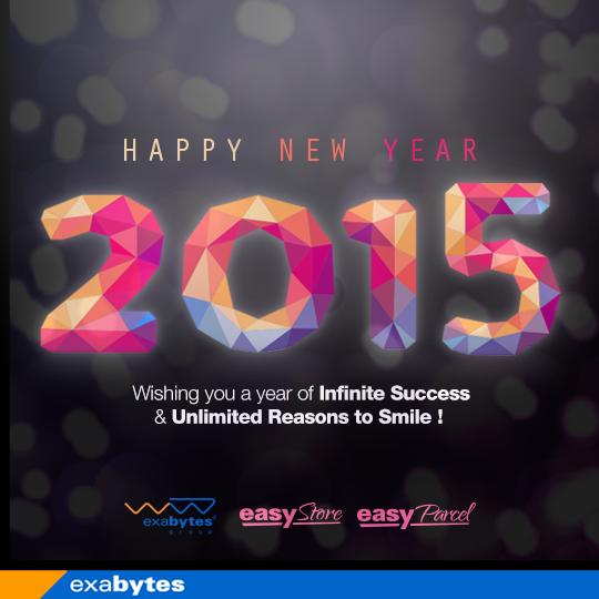 Exabytes Happy New Year Wish 2015