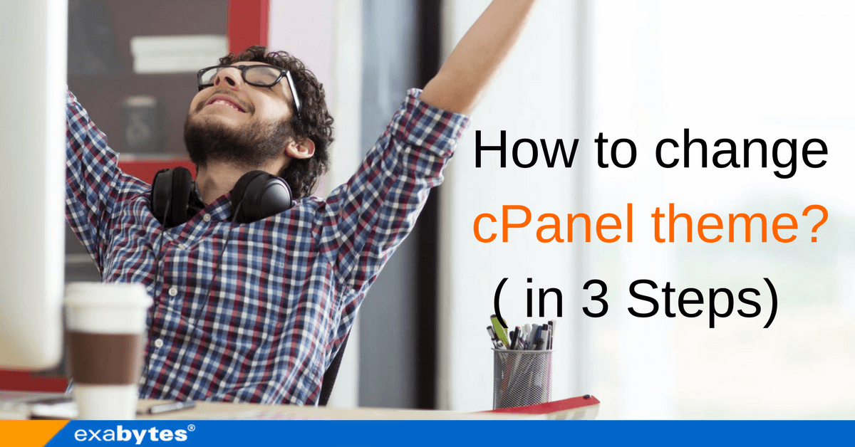 How to change cPanel theme