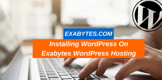 Installing WordPress On Exabytes WordPress Hosting (1)