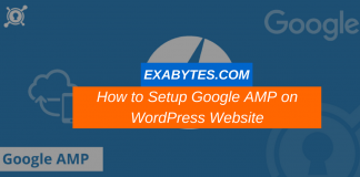 how to setup amp on wordpress