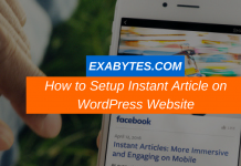 How to Setup Instant Article on WordPress Website