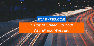 7 Tips to Speed Up Your WordPress Website.