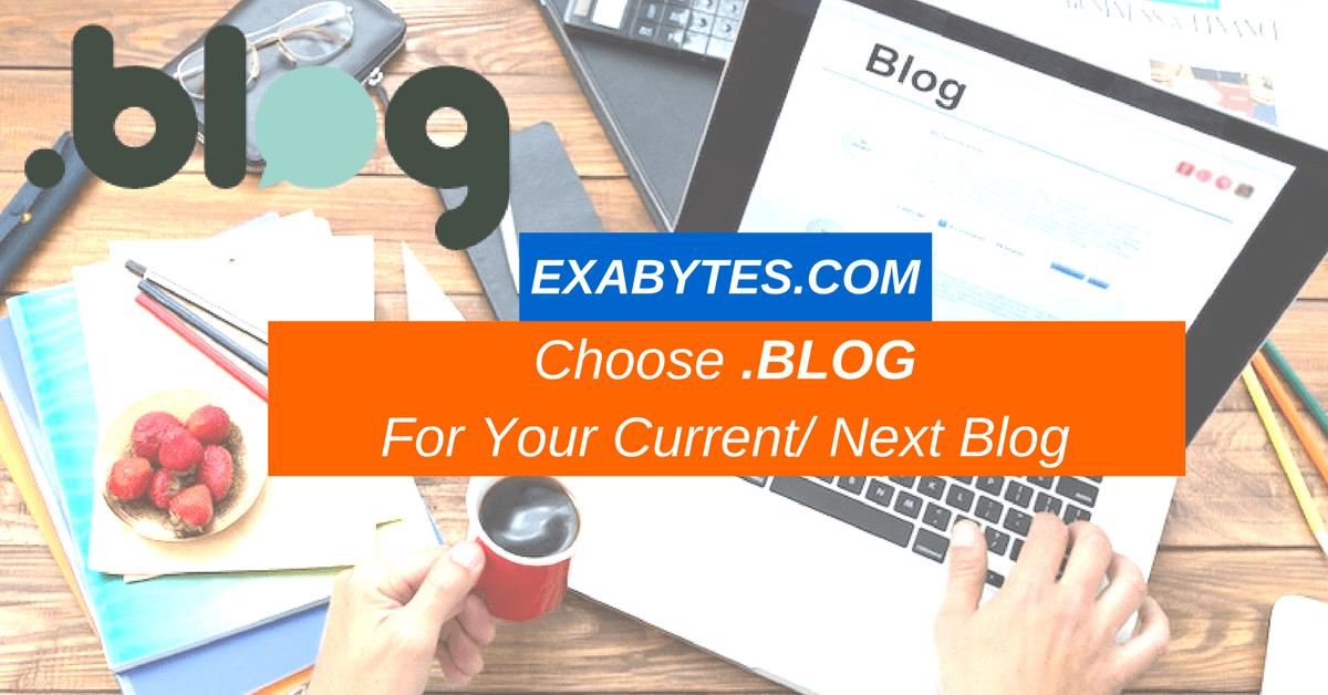 CHOOSE .BLOG FOR YOUR NEXT/ CURRENT BLOG
