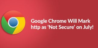 Google Chrome http not secure