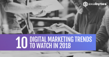 digital marketing trend 2018