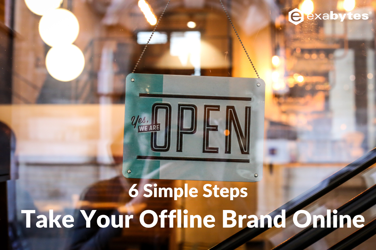 bring business offline to online