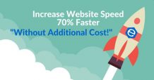 Increase website speed banner