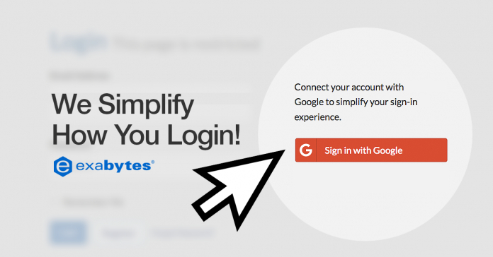exabytes login with google