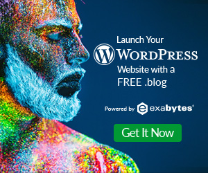 WordPress free .blog domain