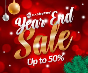 Exabytes Year End Sale