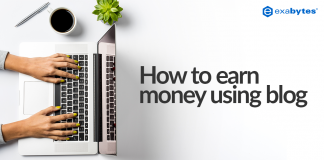 how to earn money using blog