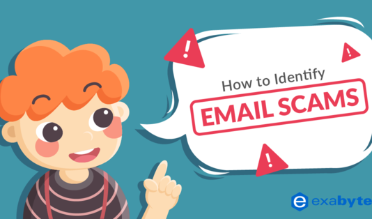 How to identify email scam