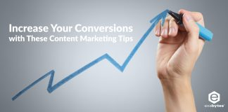 increase conversion with content marketing