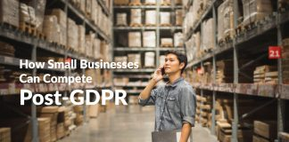 how small business compete post gdpr