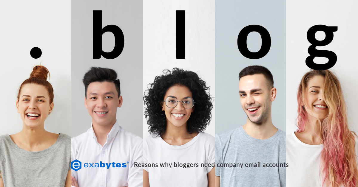 reasons blogger need company email account