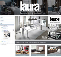Website Theme for Interior Design