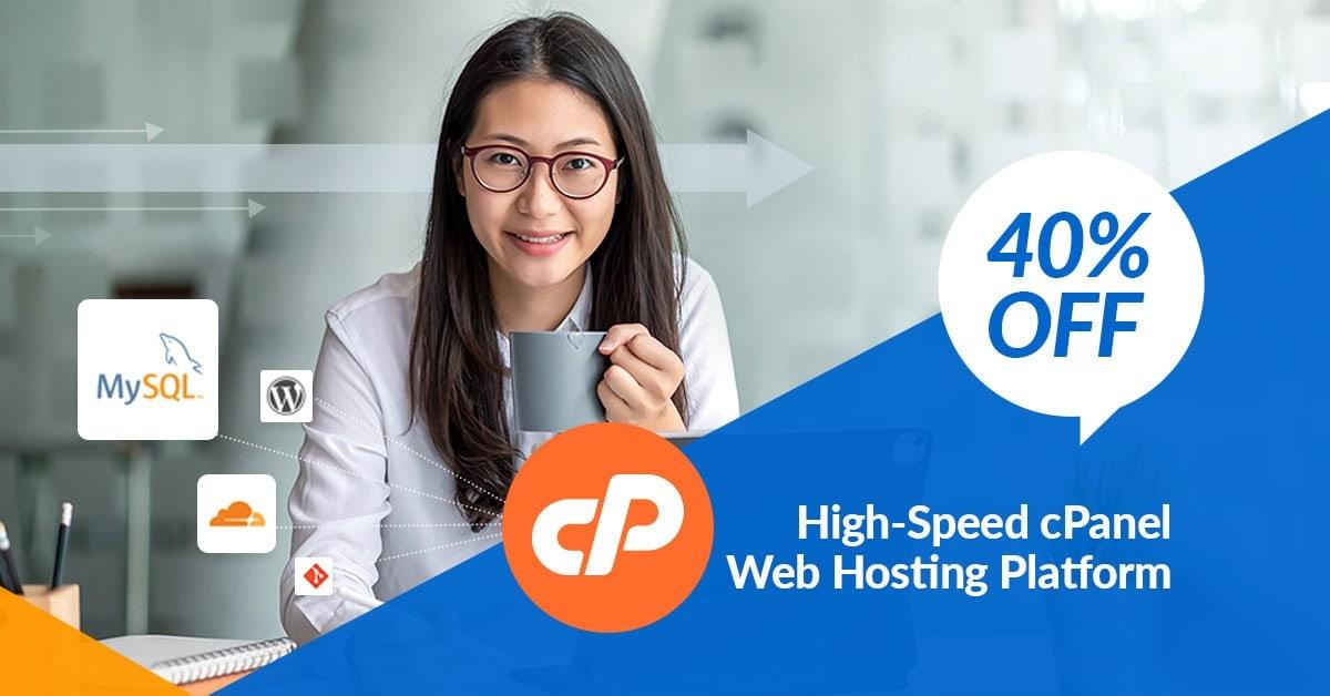 visa discount cpanel hosting banner