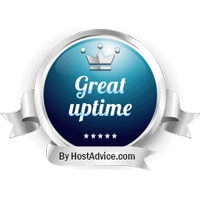 HostAdvice Great Uptime Award for Exabytes.com